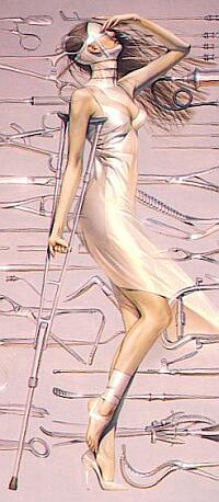 medical fetish art by Sorayama